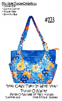 You Can Take It With You Tote Bag Pattern *