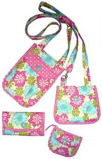 Purse-O-Nality Times 4 Mini Bags Pattern