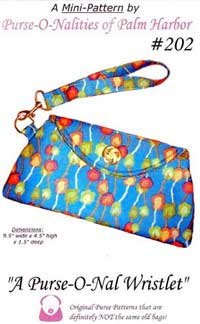 A Purse-O-Nal Wristlet Bag Pattern *