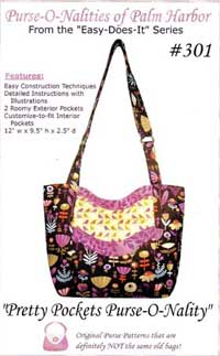Pretty Pockets Purse-O-Nality Bag Pattern *