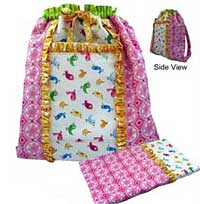 Saturday Sleepover Backpack Pattern