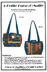 Petite Purse-O-Nality Purse Pattern *