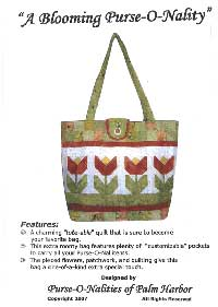 A Blooming Purse-O-Nality Tote Bag Pattern *