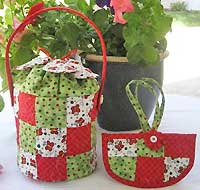 Mini Flower Bucket Purse