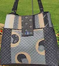 Mega Bow Tucks Tote Pattern