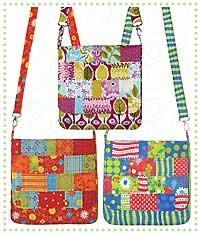 Mini Messenger Bag Pattern by Darci Wright of Quilts Illustrated : quilted messenger bag pattern - Adamdwight.com