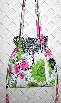 Daisy Drawstring Purse Pattern *