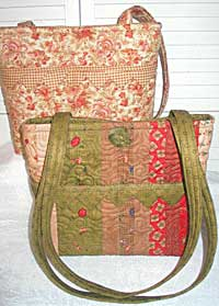 Sweet Pea Quilted Purse Pattern *