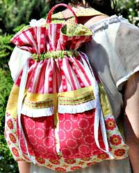 Broderie Backpack Pattern