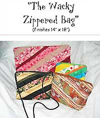 The Wacky Zippered Bag Pattern