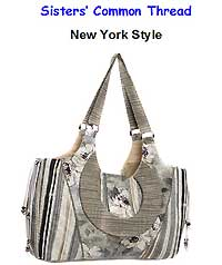 New York Style Tote Pattern by Sisters' Common Thread
