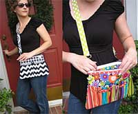 Rachel Cross Body Bag Pattern *