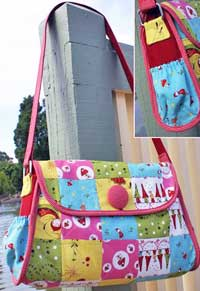 Enchanted Toadstool Nappy Bag Pattern