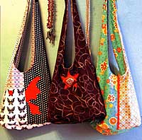 Fabric Lover's Slouch Bag Pattern *