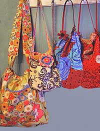Scrunchy Top Shoulder Bag Pattern