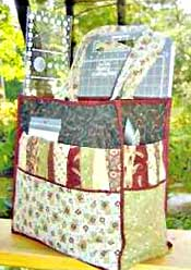 I'd Be Quiltin' Tote Pattern