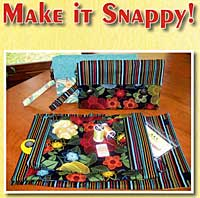 Make It Snappy Carry All Bag Pattern