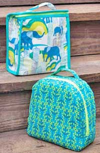 Peas and Corn Lunch Bags Pattern *