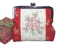 Blooming Roses Purse Pattern