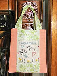 Carry A Friend Tote Pattern