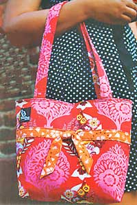 Fit To Be Tied Tote Pattern *