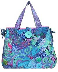 The Crazy Quilt Bag Pattern by Virginia Robertson Designs : quilt bag - Adamdwight.com