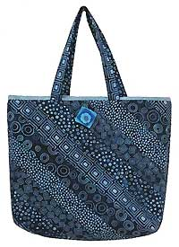 Mood Indigo Market Bag Pattern