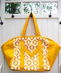 Carried Away Tote Bag Pattern