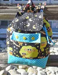 Backpack Adventures Pattern