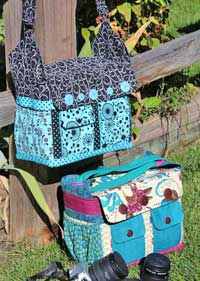 Say Cheese Camera Bag Pattern