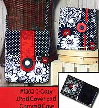 I-Cozy IPad Cover and Carrying Case Pattern