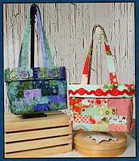 Steps Tote Pattern