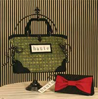 Haute Handbag and Clutch Bag Pattern