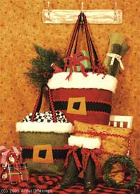 Jolly Holiday Handbags Pattern