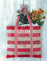 To Market, To Market Shopping Tote Pattern