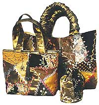 Quilt Inspiration: Free pattern day: purses, handbags and