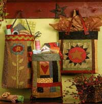 Folk Art Bags Pattern