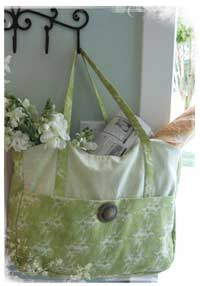 Eco Market Tote Pattern *