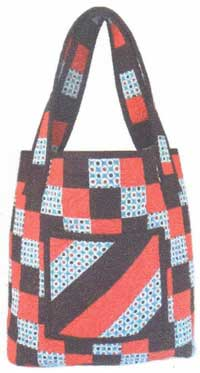 Checkered Tote Pattern