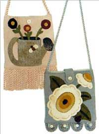 Floral Wool Purses Pattern *