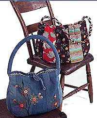 Denim and Daisies Bag Pattern