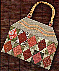 Field of Diamonds Bag - Kimies Quilts Bag Pattern