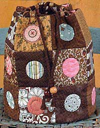 Sweet Delight Drawstring Tote Pattern