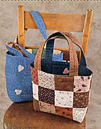 Two-Way Tote Pattern - Kimie's Quilts