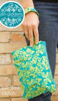 Pleated Clutch Pattern *