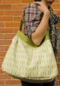 Pleated Messenger Bag Pattern *
