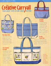 The Creative Carryall Tote Pattern