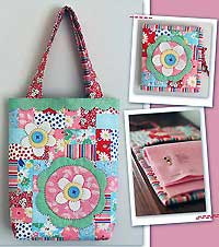 Flowers for Daisy Mae Bag Pattern