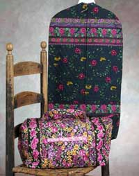 Child's Garment Bag & Tote - Rotary Cut Border Bag Pattern