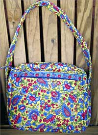 Classic Box Bag - Rotary Cut Border Bag Pattern